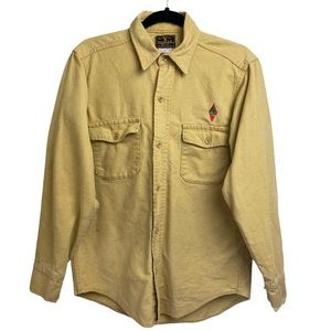 Deerskin Casual ButtonFront Workwear Hunting Shirt
